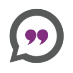 Quote icon purple - Leadership Space